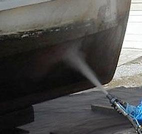 boat-sandblasting